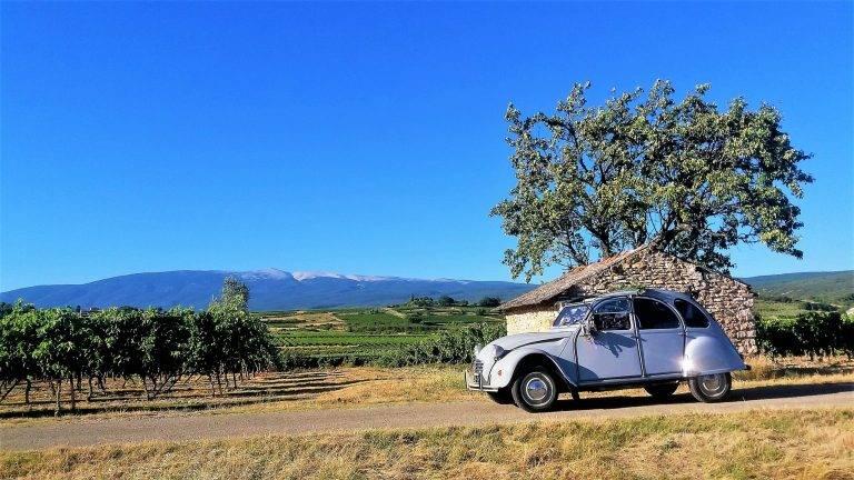 Tarifs pour la location de 2cv en Provence