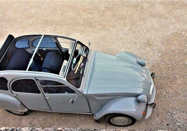 location 2cv grise luberon First Lady